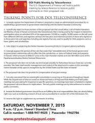 DOI Teleconferencing Pg 1
